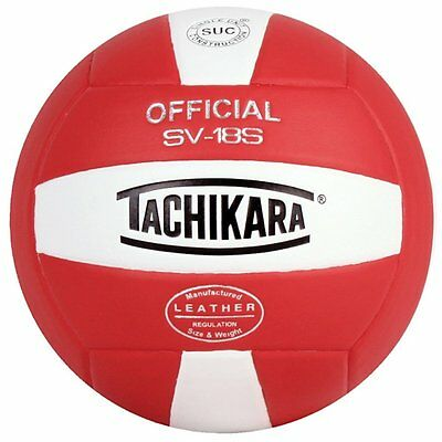 Tachikara SV18S Institution & Recreational Play Cordley Leather Volleyball NEW