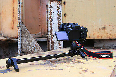 Manual control camera 60cm slider track rail for shoot time-lapse photography