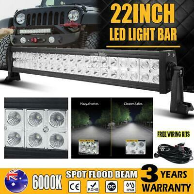 22Inch Led Light Bar 280W Philips Spot Flood Work Driving Lamp Offroad Suv Atv
