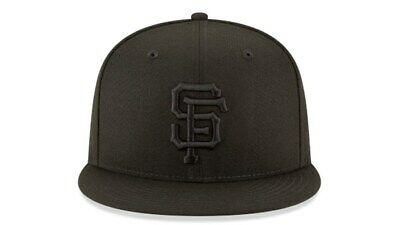 273d78411fa San Francisco Giants New Era 9Fifty Baycik Black Graphite Snapback Hat Cap  MLB