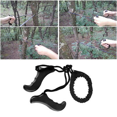 Outdoor Emergency Survival chain Saw Sawing Pocket Plastic handle ToolsH5