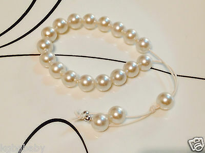 "Greek ""Worry Beads"" - White"