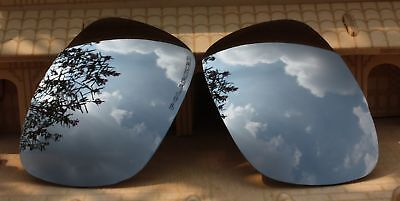 ACOMPATIBLE Polarized Lenses Replacement for- Twoface OO9189-Silver Mirror