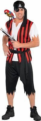 Adult Ahoy Matey Pirate Mens Fancy Dress Costume Party Outfit