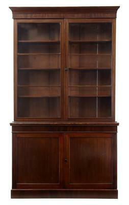 19Th Century William Iv Mahogany Bookcase