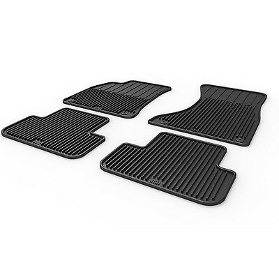 All Weather Rubber Floor Mats For Audi A4 S4 Allroad B8 09 10 11 12 13 14 15 16