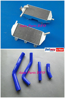 For Yamaha YZF450 Radiator & Blue Hose  YZ450F 2010 2011 2012 2013 Aluminum
