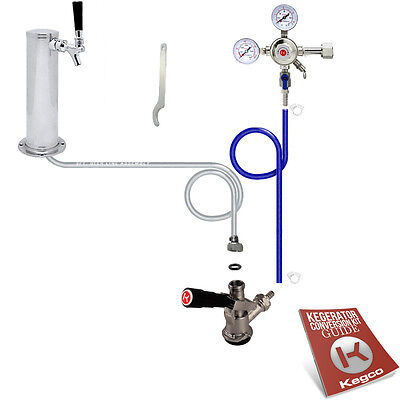 Standard Tower Kegerator Conversion Kit - No Co2 Tank