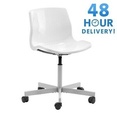 IKEA SNILLE Swivel office chair work white office