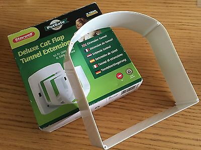 petsafe deluxe cat flap tunnel extension to fit 300, 400 and 500 Series *NEW*