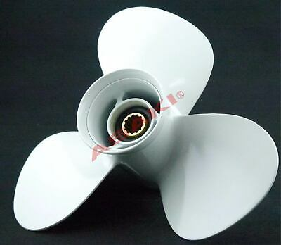 For YAMAHA Outboard 30-60 HP C40TLRB Propeller hélice 663-45956-01-EL 3X12 1/4X9