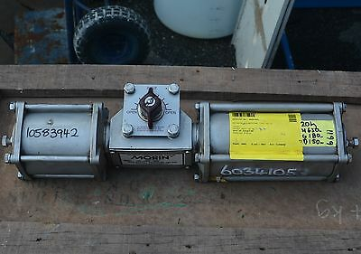 MORIN Pneumatic/Hydraulic rotary valve actuator 79S 046M S080