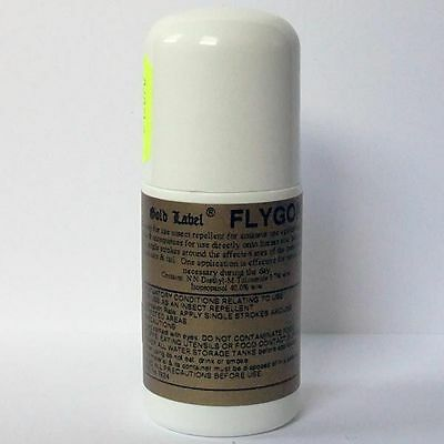 Brand New Gold Label Flygon 12 Roll On 50ml Fly Repellent