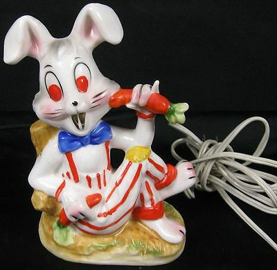 Vintage 1950's-60's Cute Bugs Bunny Night Light