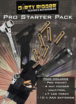 Dirty Rigger Pro Starter Kit - Theatre, Lighting, Stage, Rigging