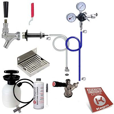Ultimate Door Mount Keg Tap Kegerator Conversion Kit - No CO2 Tank