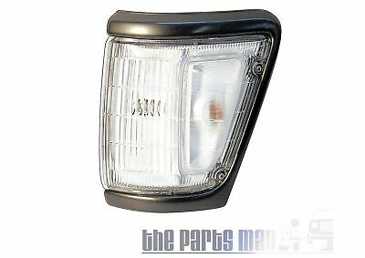 LH Indicator Park Corner Lamp/Light Grey Clear Hump Toyota Hilux 4WD 11/91-9/97
