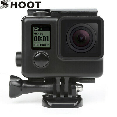 Black Waterproof Protective Shell Underwater Housing Dive Case f Gopro Hero 4 3+