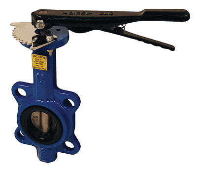 """2"""" Butterfly Valve Wafer Style with Stainless Steel Disc & BUNA-N Seals - DIXON"""