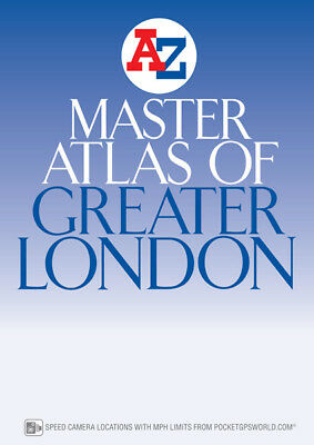 Master Atlas of Greater London by A-Z Maps (Paperback, 2017)