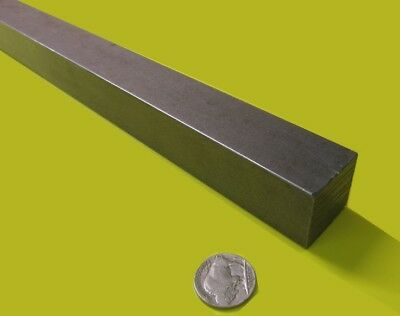 """Square 4140/4142 Steel Bars, 1.0"""" (- 0.011"""") x 1.0"""" Wide x 36"""" Length"""