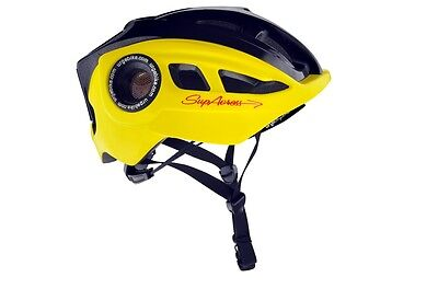 Urge Supacross XC Crosscountry Helm -gelb/schwarz- S/M 2014