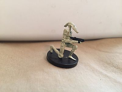 Star Wars Miniatures Revenge of the Sith #25/60 Battle Droid - NC