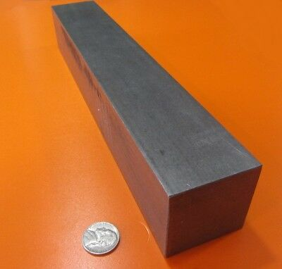 """Square 4140/4142 Steel Bars, 2"""" (- 0.007"""") x 2.0"""" Wide x 12"""" Length"""