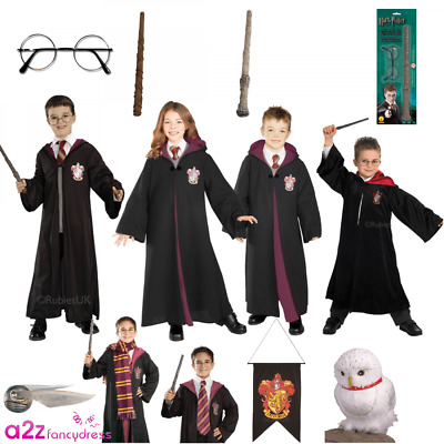 Boys Girls Harry Potter Hermione World Book Day Halloween Licensed Fancy Dress