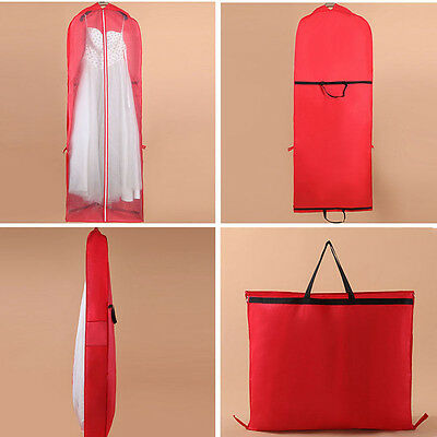 Bridal Wedding Long Dress Gown Garment Store Pouch Dustproof Protector Bag Cover