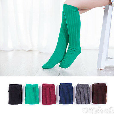 Boy/Girl Kids Knee High Socks Stocking Cotton Baby Toddler Leg Warm Leggings TP