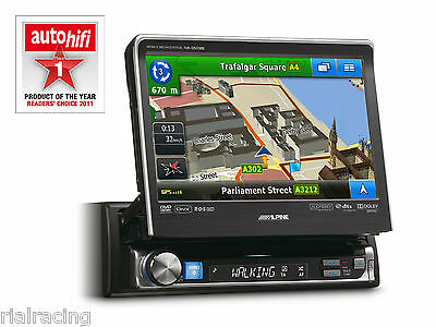 Pantalla Monitor Auto-Radio Cd Usb Bluetooth  Alpine Dvd Divx Coche Iva-D511Rb