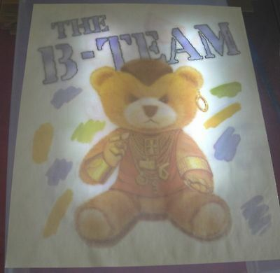 Vintage The B-Team T-Shirt Iron On Transfer