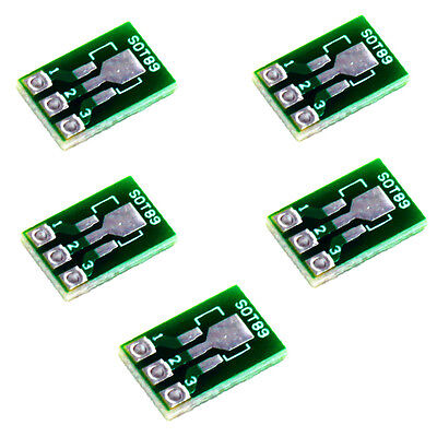 5Stk Double Side SMD Adapterplatine SOT223 SOT89 to DIP Adapter Converter PCB