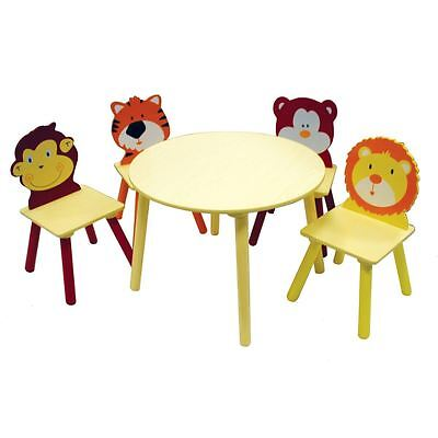 Hobbycraft Kids Round Wooden Table Children's Paint Crafting Furniture