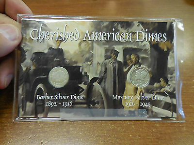 Cherished American  Dimes  Collector  Coin  Set