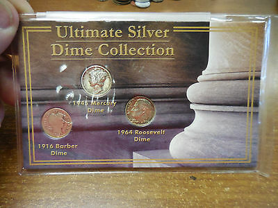 Ultimate Silver Dime Collection