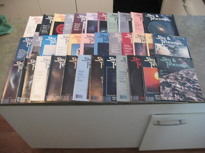 SKY AND TELESCOPE Magazine Issues from 1984-1986 Issues 35 total issues