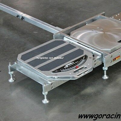 Longacre Racing Products Modular Roll-Off Platforms,for Turnplates Set of 2 ~