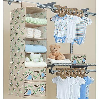 CLOSET ORGANIZER DELTA 20 PC CHILDRENS bedroom storage shelf ...
