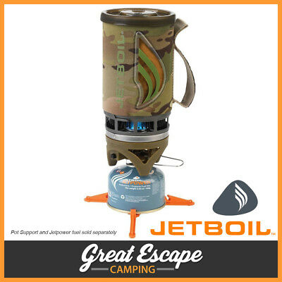 Jetboil Flash Portable Gas Stove Compact Lightweight Cooking Jet Boil Camo