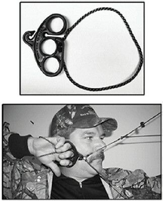 """Third hand archery CAN""""T FIRE RELEASE safety NO cant tool arrow made USA orange"""
