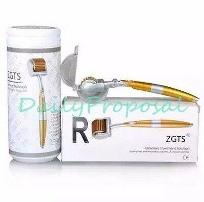 192 ZGTS Titanium Micro Needle Derma Roller Meso Roller Acne Scar Wrinkle Therap