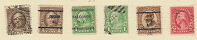 (USE32) 1926-34 USA 19mix ½c to 6c