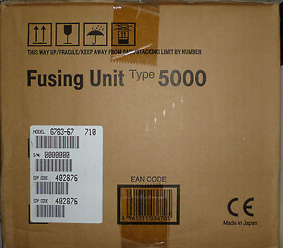 Genuine Ricoh Fusing Unit Type 5000 402876 For Cl5000