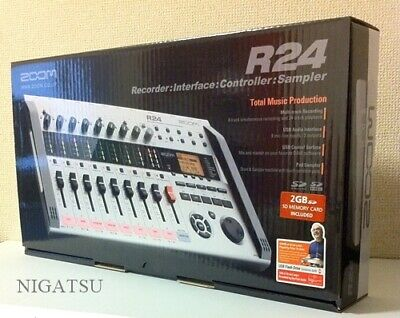 NEW Zoom R24 24-track Simultaneous Playback Multi-Track Recorder JAPAN