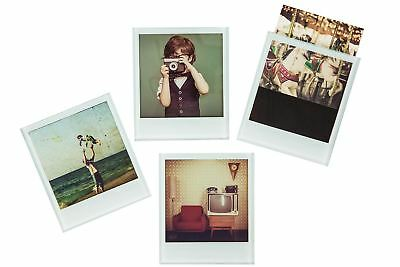 Instant Photo Coasters Set of 4 Fun Polaroid Style Picture Mats
