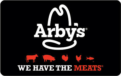 $10 / $20 Arby's Gift Card - Mail Delivery