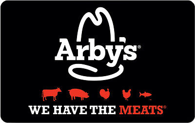 $10 / $20 Arby's Physical Gift Card - Standard 1st Class Mail Delivery