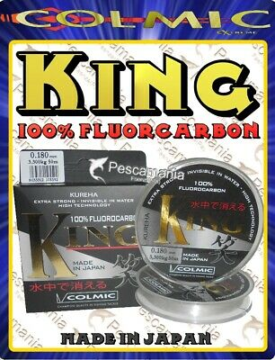 Fluorcarbon 100% Made in Japan Colmic KING ø0,10- ø0,25